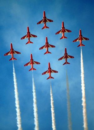R.A.F. Red Arrows