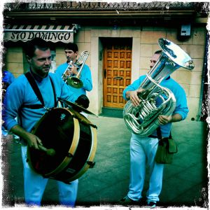 Fiesta time in Santo Domingo